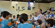 İnegölde yaz spor okulları devam ediyor