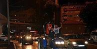 Traktörler şehre indi