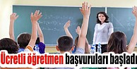 Ücretli Öğretmenlik Başvuruları Başladı