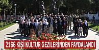 2166 Kişi Kültür Gezilerinden Faydalandı