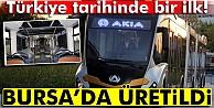 Bursada artık metrobüs de üretiliyor