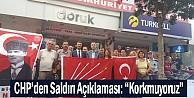 CHP İnegöl#039;den Kılıçdaroğlu Saldırısına Tepki