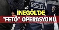 İnegöl#039;de FETÖ operasyonu