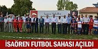 İsaören futbol sahası açıldı