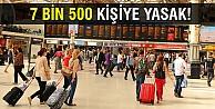 KPSS usulsüzlüğünde 7 bin 500 kişiye yasak!