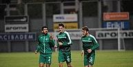 Bursasporda Gaziantep hazırlıkları başladı