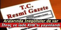 2 yeni KHK resmi gazetede yayımlandı
