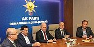 AK Parti teşkilatları cumhurbaşkanını karşılamaya hazırlanıyor