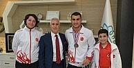 """Bozbey: Sporcularımızın başarısı göğsümüzü kabartıyor"""""""