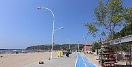 Bursa plajları 900 bir kişiyi ağırladı
