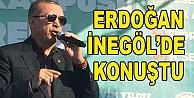Cumhurbaşkanı Erdoğan İnegöl#039;de