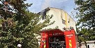 Eski hastanede çıkan yangın korkuttu