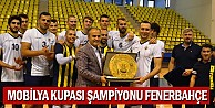 Mobilya Kupası Şampiyonu Fenerbahçe