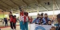 Nilüferli cimnastikçiler Türkiye üçüncüsü oldu