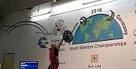 Spor hocası Suvar, Dünya Halter Şampiyonasında 4. oldu