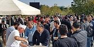 Uludağ Üniversitesi'nde  aşure ikramı