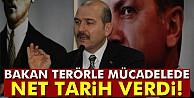 Bakan Soylu terörle mücadelede tarih verdi