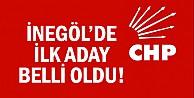 CHP İnegöl#039;de ilk aday belli oldu