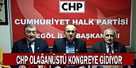 CHP Olağanüstü Kongreye Gidiyor