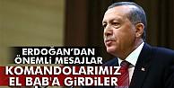 Cumhurbaşkanı Erdoğan: #039;ÖSO ve komandolarımız El Bab#039;a girdiler#039;