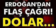 Cumhurbaşkanı Erdoğan: Yastık altındakileri TL#039;ye çevirin