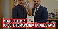 İnegöl Belediyesi Bütçe Performansında Türkiye 1incisi