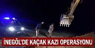 İnegöl#039;de kaçak kazı yapan 9 kişi gözaltına alındı
