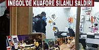 İnegöl#039;de Kuaföre silahlı saldırı ; 2 Yaralı