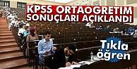 KPSS ortaöğretim sonuçları açıklandı! Tıkla öğren...