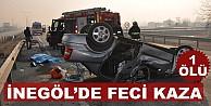 Kulaca kavşağında feci kaza;1 ölü