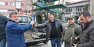 Orman İşletmesi'nden vatandaşlara yeni yıl fidanı