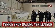 Yenice Spor Salonu yenileniyor