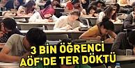 3 Bin Öğrenci AÖF#039;de Ter Döktü