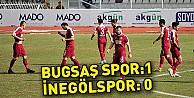 Bugsaş Spor: 1 - İnegölspor: 0