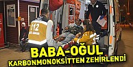 Burdur#039;da baba - oğul sobadan sızan gazdan zehirlendi