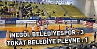 İnegöl Belediyespor :3 - Tokat Belediye Plevne :1