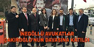 İnegöllü Avukatlar Çakıroğlunun Davasına Katıldı