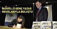 İnegöllü  Genç yazar Latifoğlunun İlk kitabı #039;Platonik adam Tanıtıldı