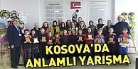 Kosova#039;da Anlamlı Yarışma