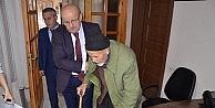"""92'lik dede: """"Ölmeden Erdoğan'ı görmek istiyorum"""""""