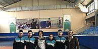 Badmintonda Osmangazi 4 sporcusuyla badminton milli takımında