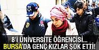 Bursada PKK propagandası yapan 14 kişi adliyeye sevk edildi