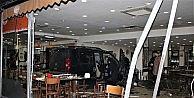 Gasp ettiği araç ile köfteciye dalan katil zanlısı 230 promil alkollü çıktı
