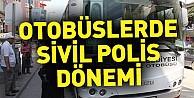 İnegöl#039;de otobüslerde sivil polis denetimi başladı