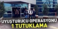 İnegöl#039;de uyuşturucu operasyonu: 1 tutuklama
