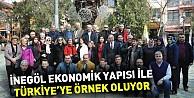 İnegöl ekonomik yapısı ile Türkiyeye örnek oluyor