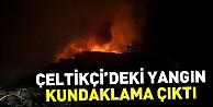 İnegöldeki yangın kundaklama çıktı