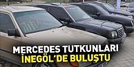 Mercedes Tutkunları İnegöl#039;de Buluştu