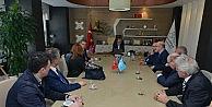 Priştine Üniversitesinden Başkan Bozbeye ziyaret
