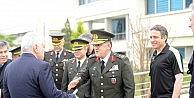 Tuğgeneral Ahmet Hacıoğlundan Bursaspora ziyaret